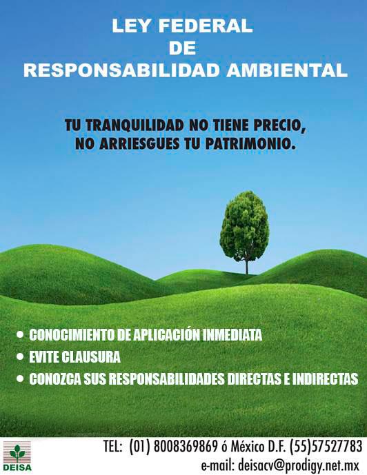 Ley Federal de Responsabilidad Ambiental - Laboratorio Ambiental