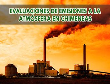 Evaluaciones de emisiones a la atmósfera